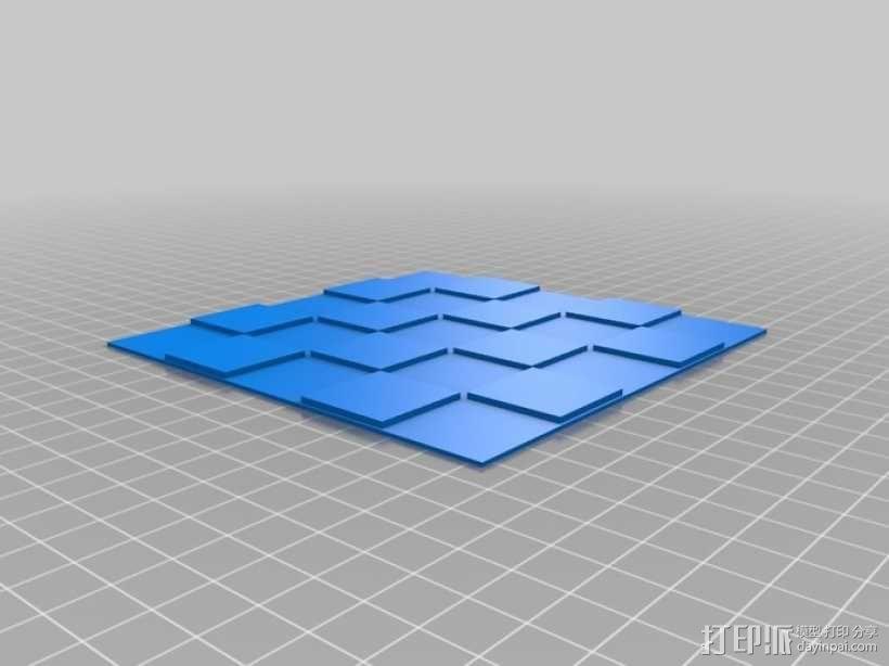 锡瓦斯棋棋盘 3D模型  图5