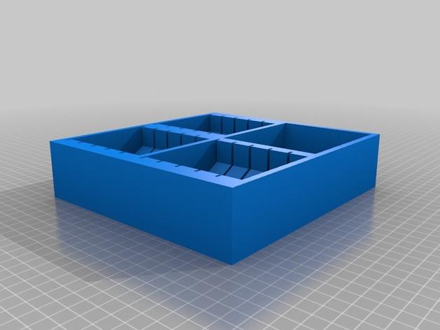 多功能玩具收纳盒 3D模型  图4