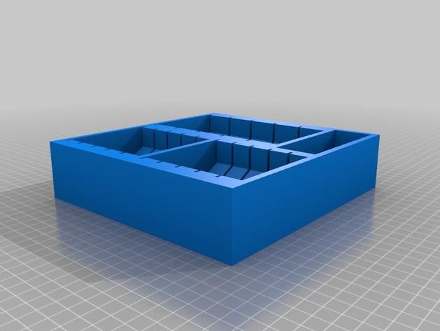 多功能玩具收纳盒 3D模型  图3