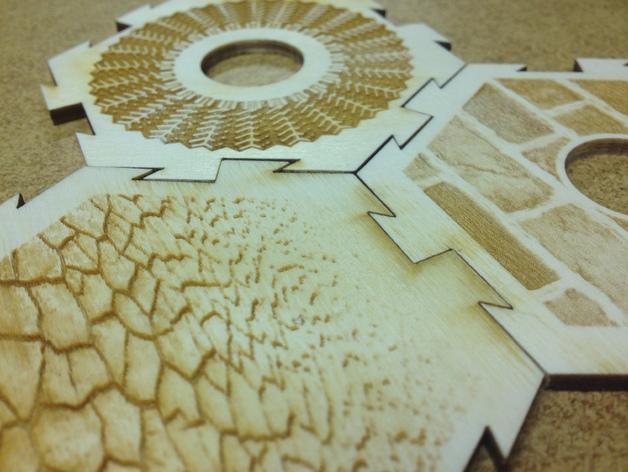 卡坦岛拼图 3D模型  图5