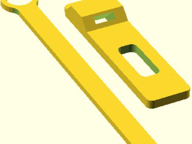 简易弹弓 3D模型  图4