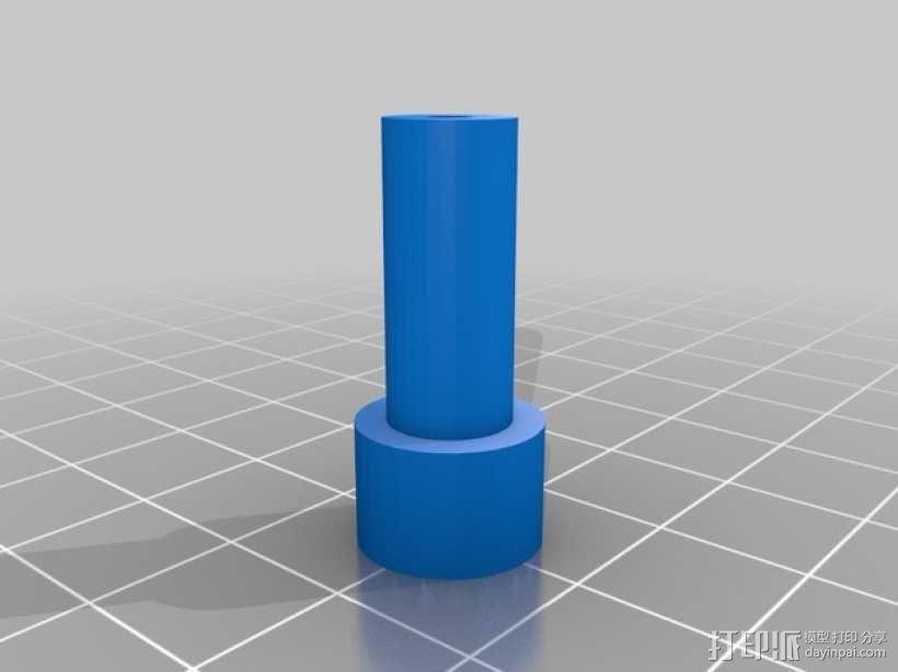 直线型转缸式发动机 3D模型  图3