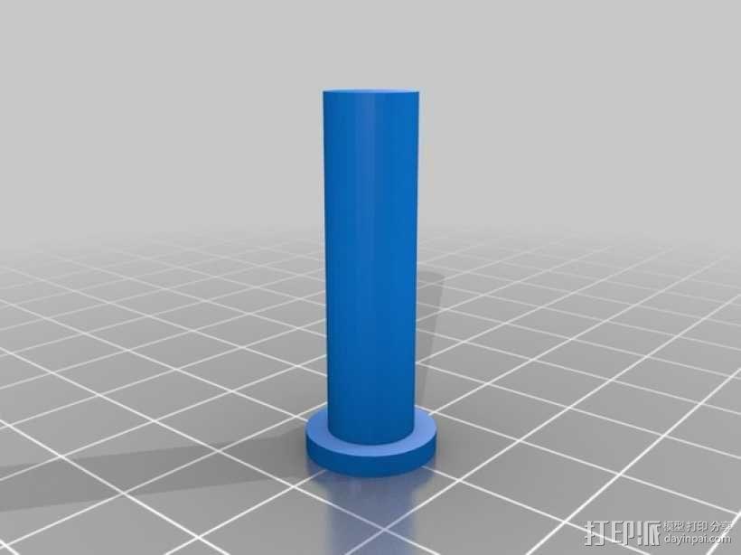 直线型转缸式发动机 3D模型  图2