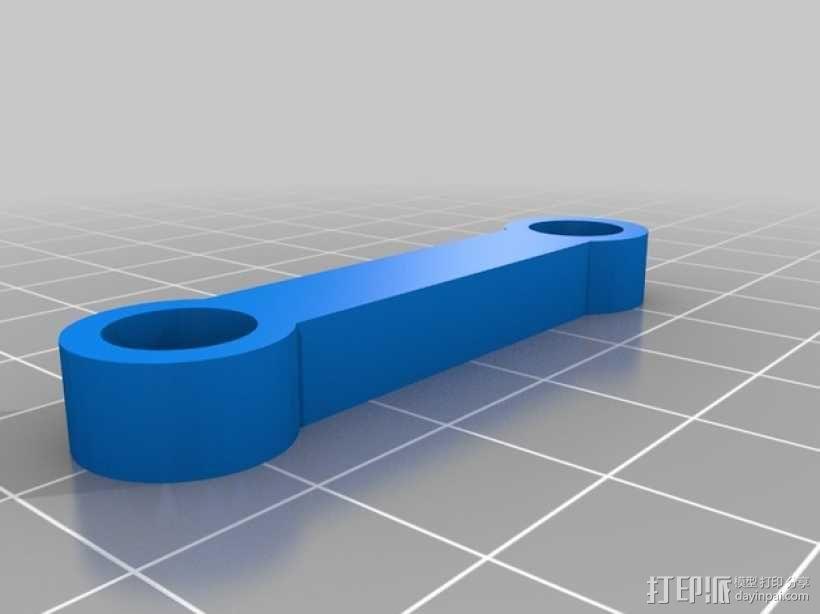 直线型转缸式发动机 3D模型  图5