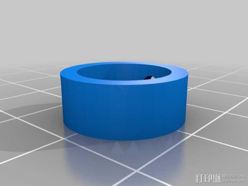 直线型转缸式发动机 3D模型  图4