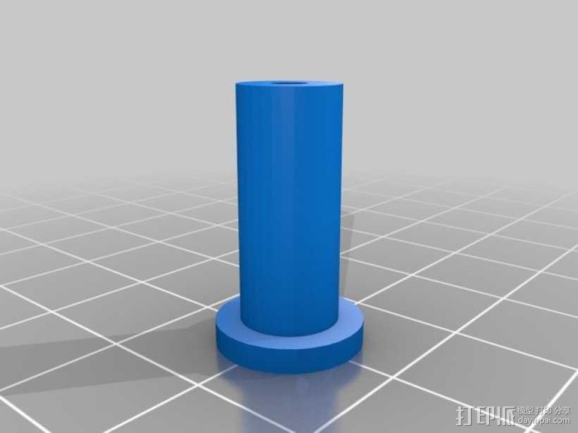 直线型转缸式发动机 3D模型  图6