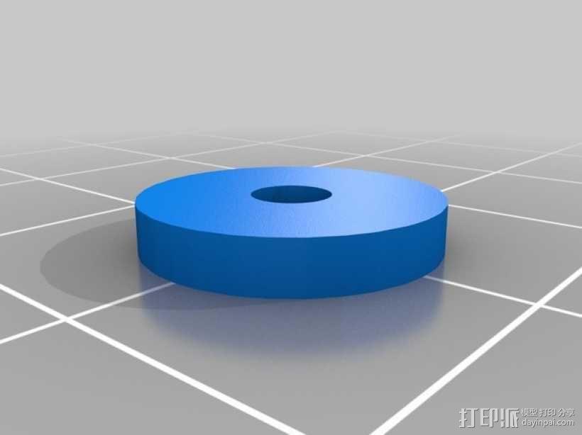 直线型转缸式发动机 3D模型  图8