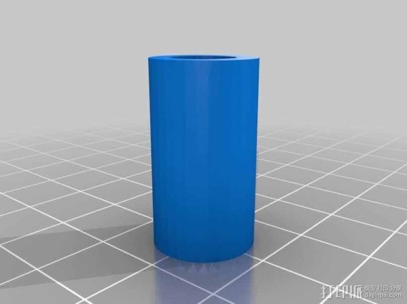 直线型转缸式发动机 3D模型  图7