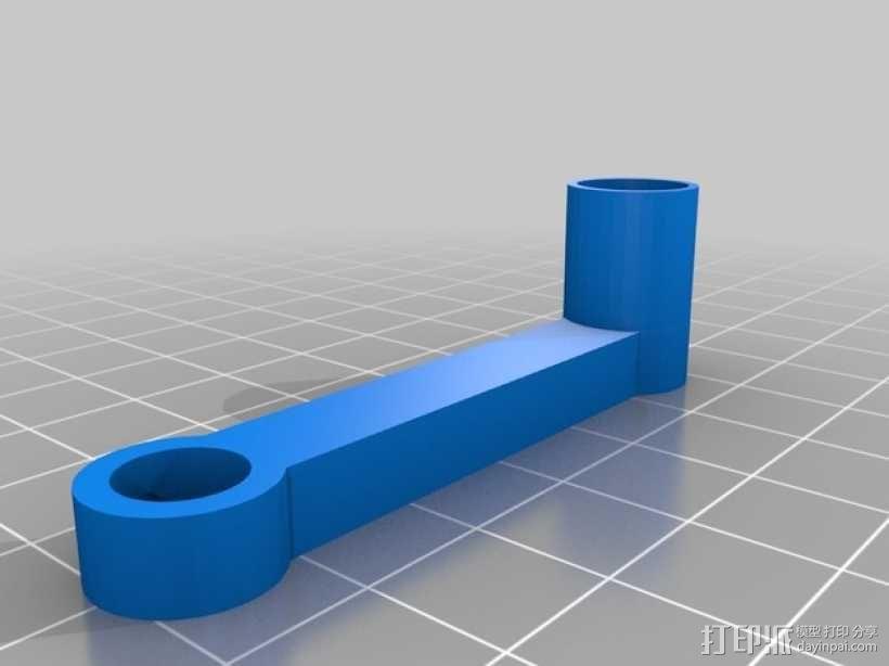 直线型转缸式发动机 3D模型  图9