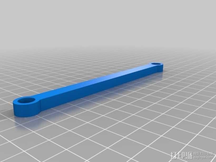 直线型转缸式发动机 3D模型  图11