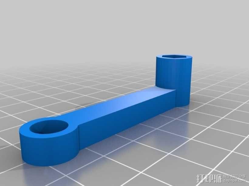 直线型转缸式发动机 3D模型  图13