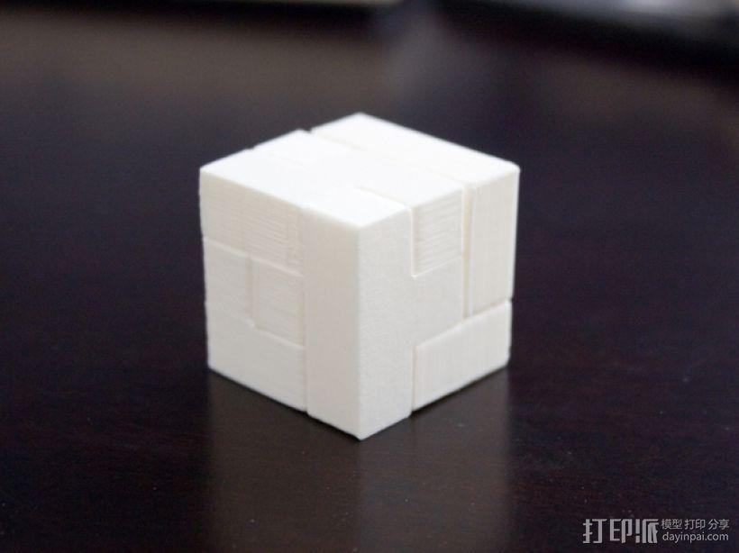 半小时魔方 3D模型  图1