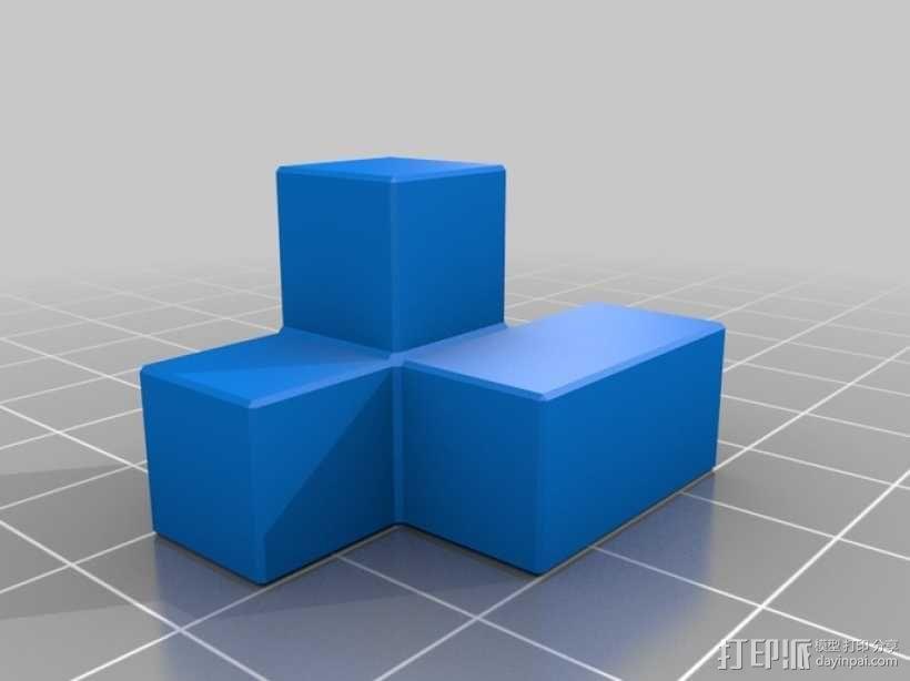 半小时魔方 3D模型  图4
