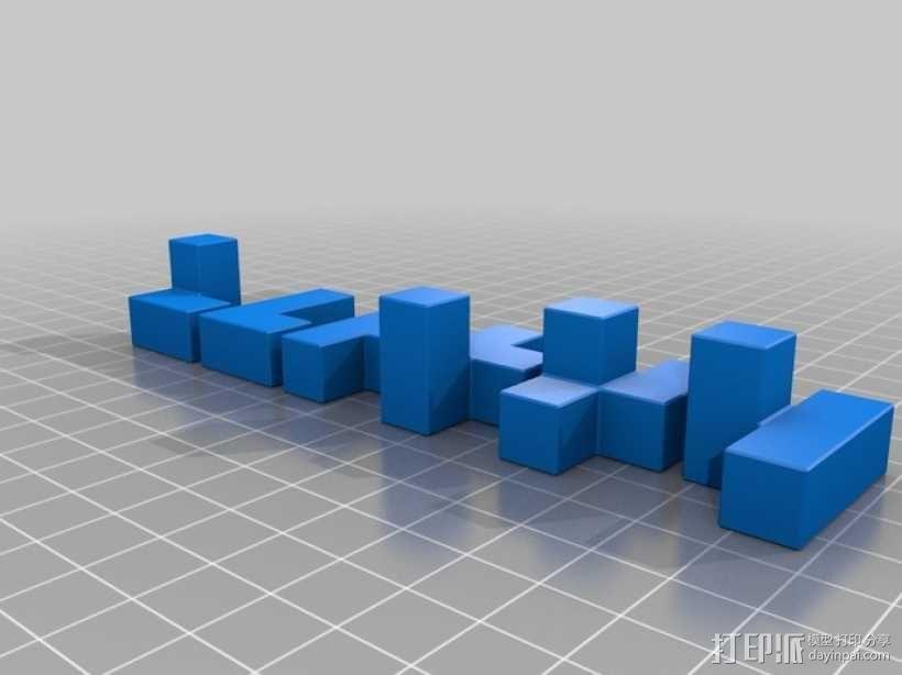 半小时魔方 3D模型  图9