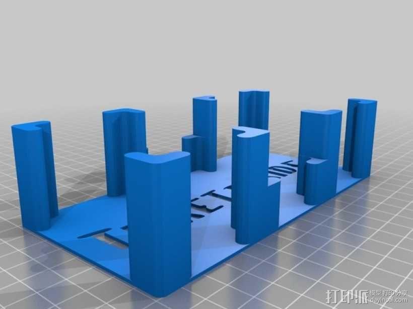 《车票之旅》游戏卡盒 3D模型  图2