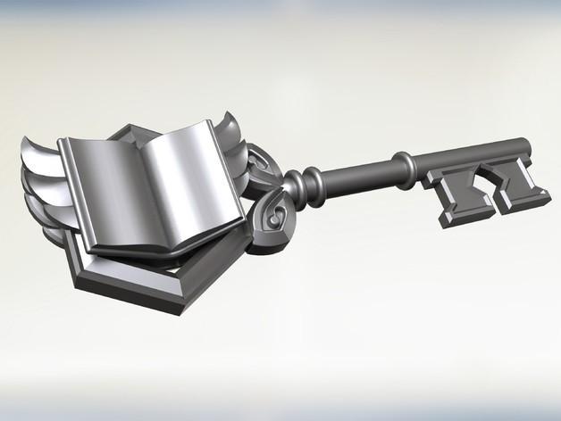 《炉石传说4》竞技场钥匙 3D模型  图1
