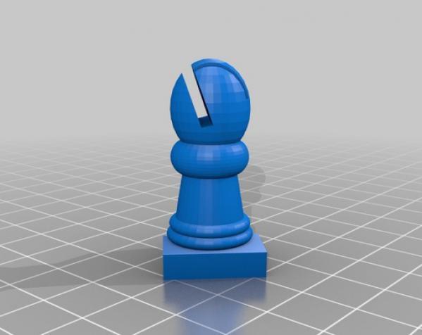 国际象棋机器人玩偶 3D模型  图5
