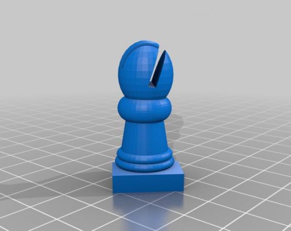 国际象棋机器人玩偶 3D模型  图6