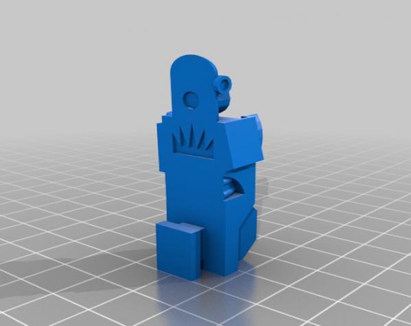 国际象棋机器人玩偶 3D模型  图7