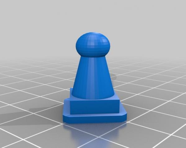国际象棋机器人玩偶 3D模型  图9