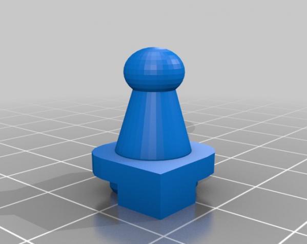 国际象棋机器人玩偶 3D模型  图10