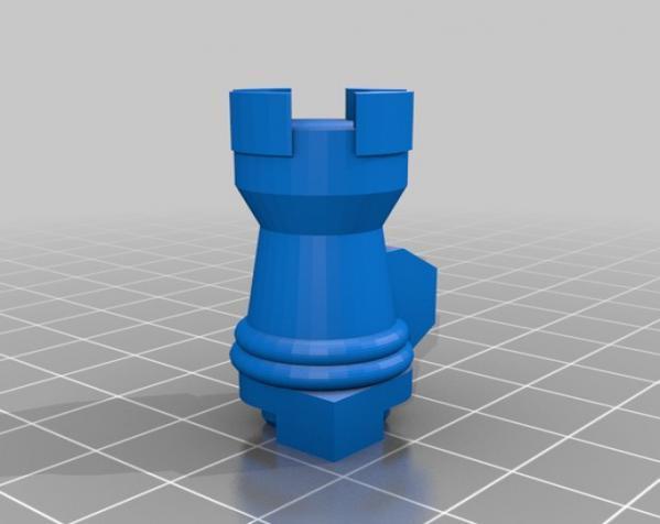 国际象棋机器人玩偶 3D模型  图12