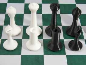 斯顿汤国际象棋模型1 3D模型