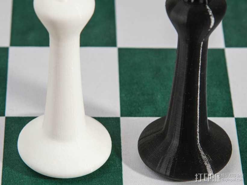 斯顿汤国际象棋模型1 3D模型  图8