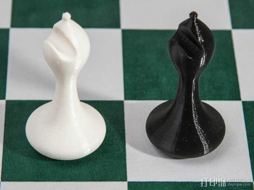 斯顿汤国际象棋模型1 3D模型  图10