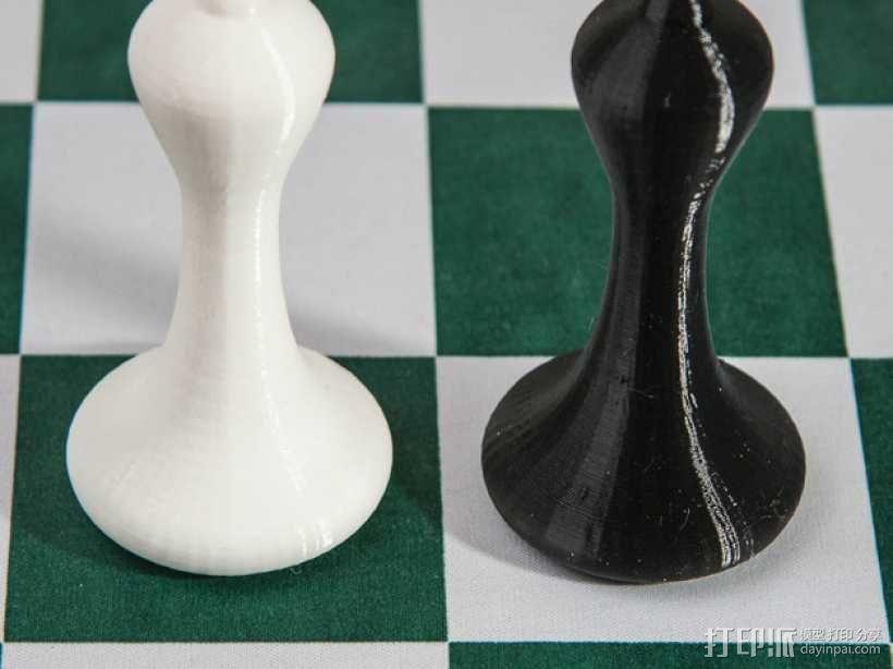 斯顿汤国际象棋模型1 3D模型  图9