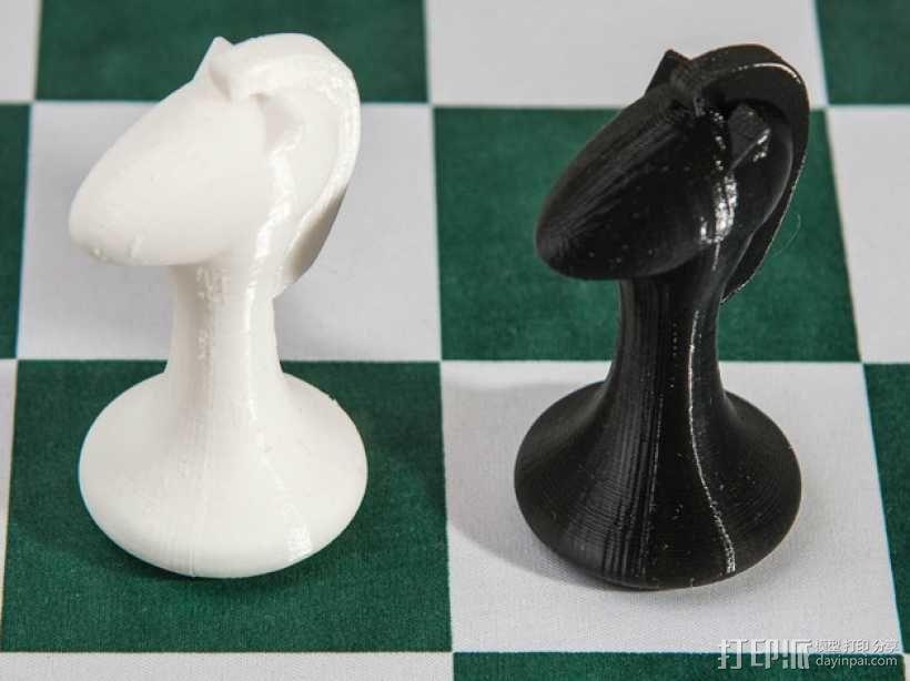 斯顿汤国际象棋模型1 3D模型  图13