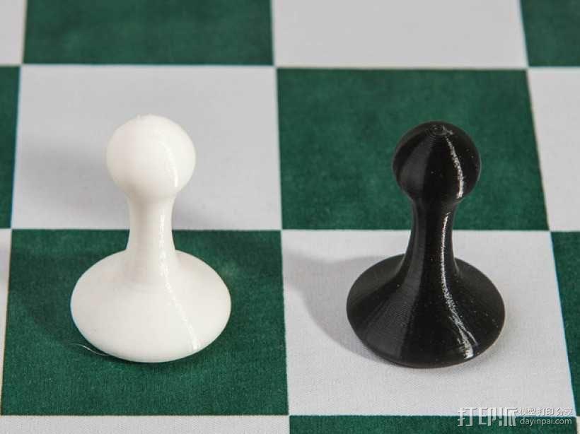 斯顿汤国际象棋模型1 3D模型  图12