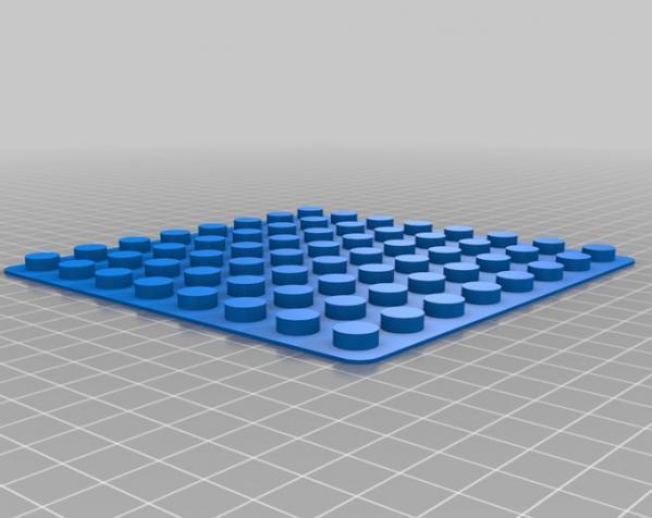 得宝玩具建筑底板 3D模型  图1