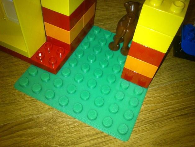 得宝玩具建筑底板 3D模型  图3