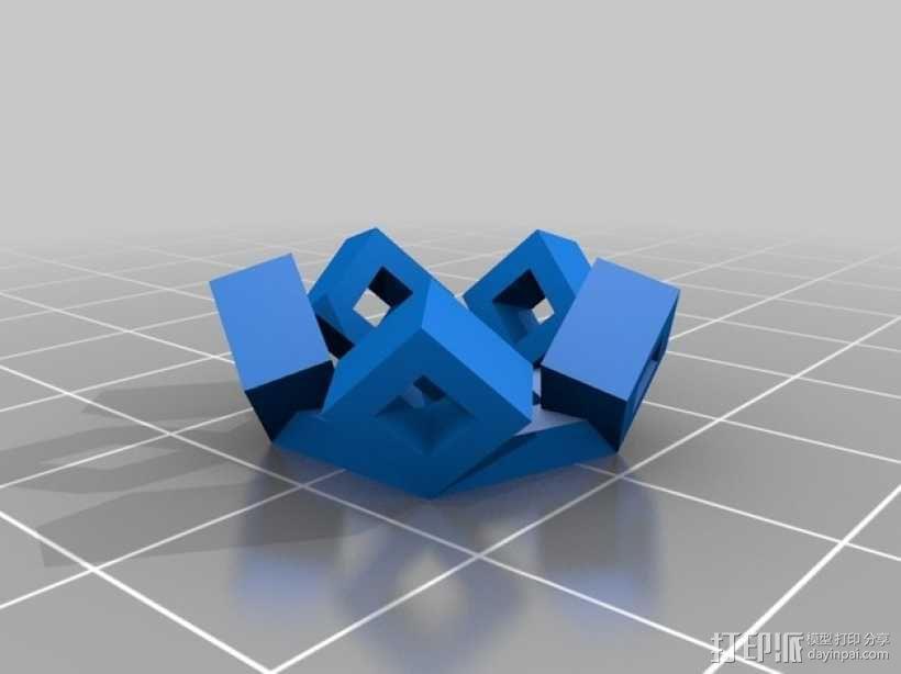 3D打印网格球形玩具 3D模型  图5