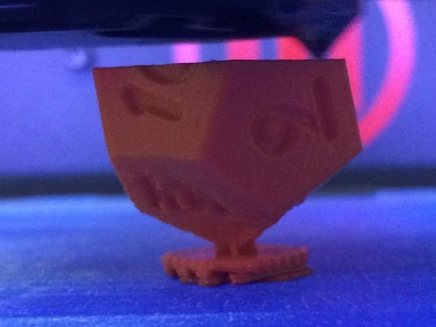 十二面体骰子 3D模型  图3