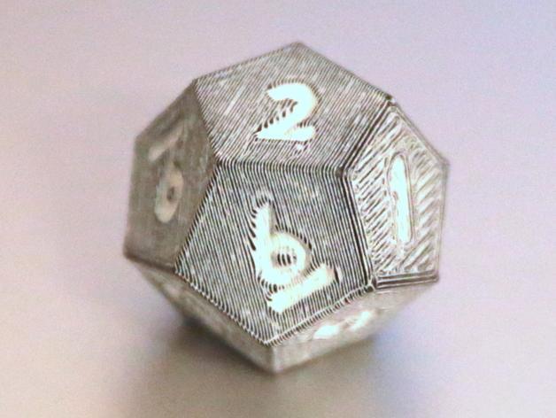 十二面体骰子 3D模型  图8