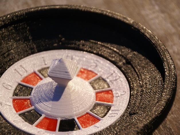 轮盘赌游戏 3D模型  图2