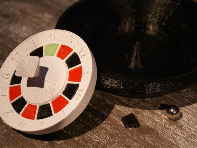 轮盘赌游戏 3D模型  图3