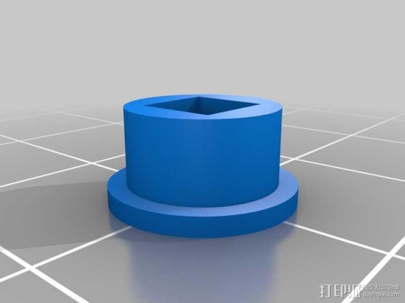 鲨鱼形发动机模型 3D模型  图6