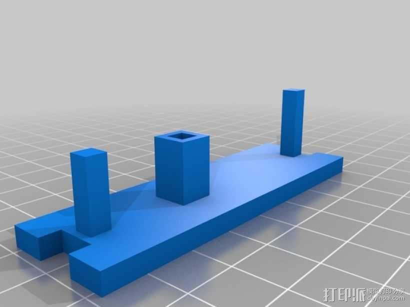 鲨鱼形发动机模型 3D模型  图8