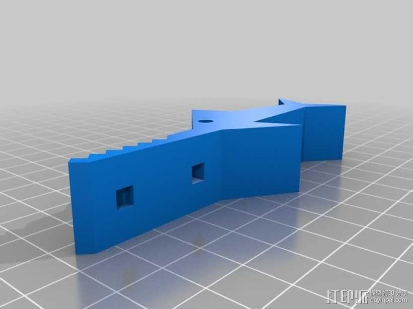 鲨鱼形发动机模型 3D模型  图10