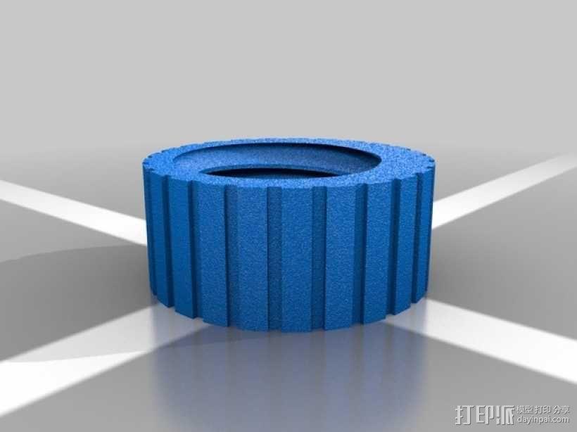 螺母和空心螺丝 3D模型  图2