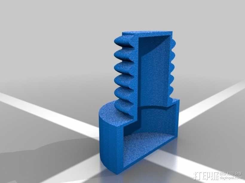 螺母和空心螺丝 3D模型  图5