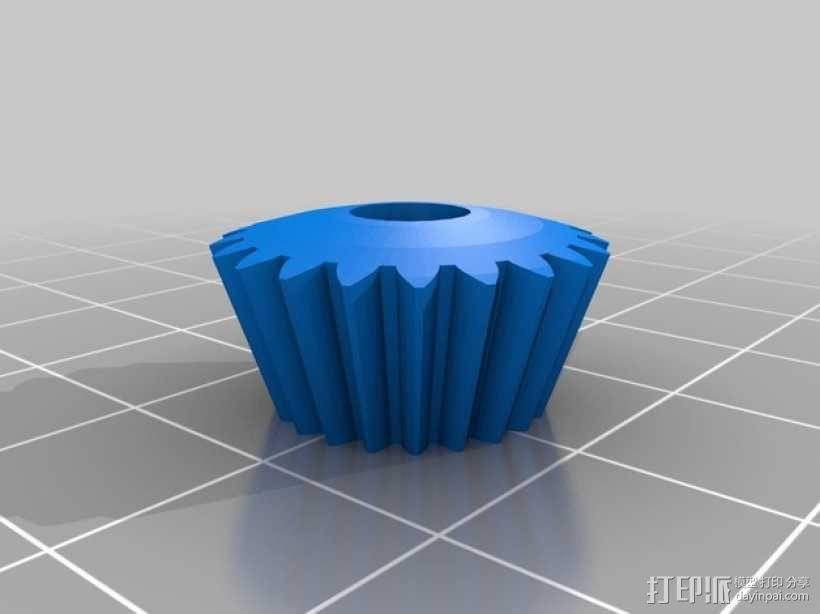 终极版球形齿轮 3D模型  图3