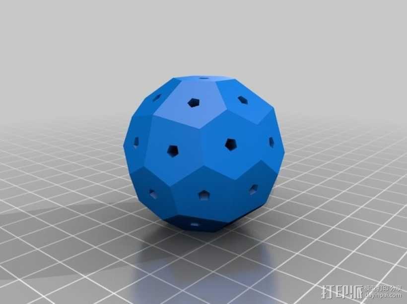 终极版球形齿轮 3D模型  图2