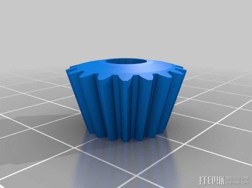 终极版球形齿轮 3D模型  图4