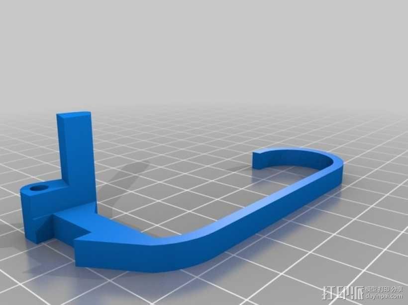 XBox游戏机触发适配器 3D模型  图2