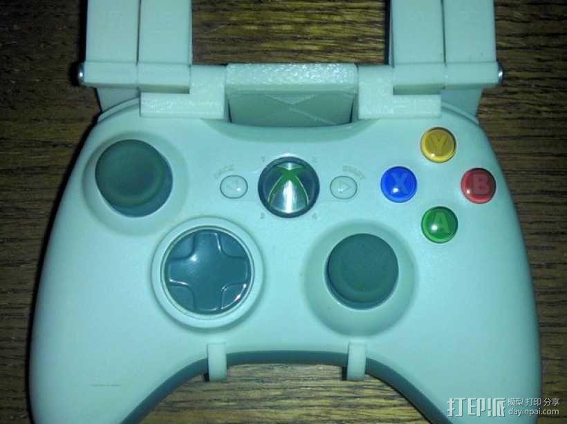 XBox游戏机触发适配器 3D模型  图1