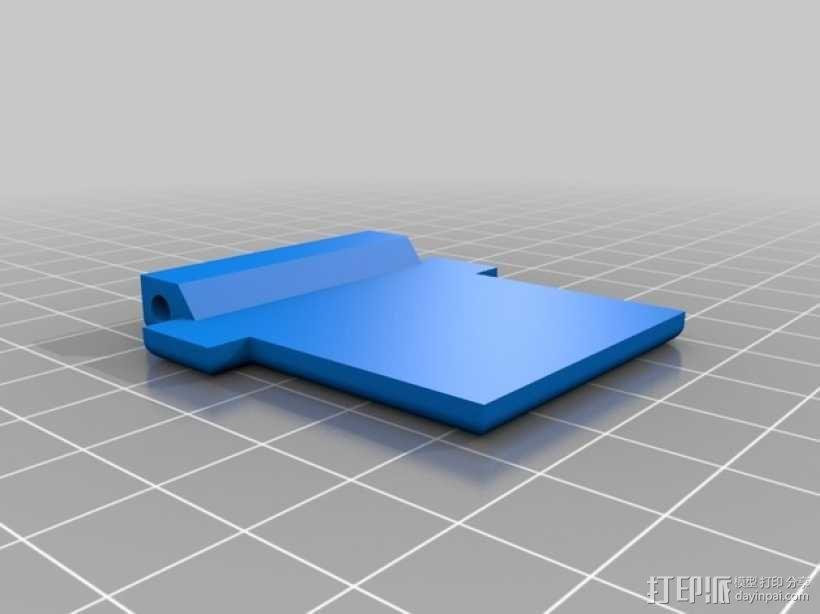 XBox游戏机触发适配器 3D模型  图5